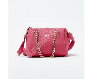 a6ac52b2481c3 حقيبة يد نسائية مع حزام معدن - فوشيا - باسعار الجملة - سيتشيل ستور -  secilstore