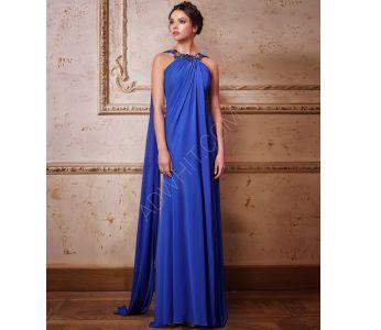 bce62b9827d55 فستان رسمي ياقة مزينة مع شال - للبيع بالجملة - سيتشيل ستور - secilstore