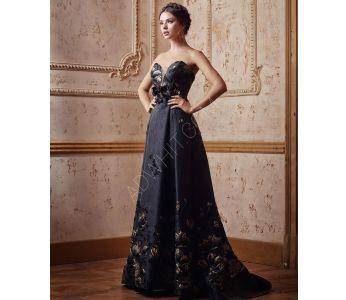 d169dc414 فستان طويل عاري الاكتاف رسمي - اسود - باسعار منافسة -سيتشيل ستور -  secilstore