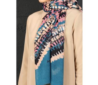 ca199e174 حجاب تركي منقش - للبيع بالجملة - اول دي- allday
