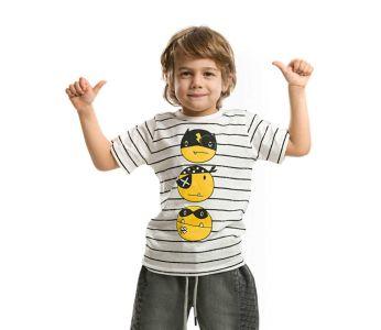 95cc620cb تيشرت اطفال ولادي مع طبعة باسعار جملة منافسة- دينو كيدز - denokids