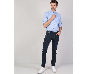 15f649d24 قميص رجالي منقش ريجيولار فيت - بارخص الاسعار - كولينز colins