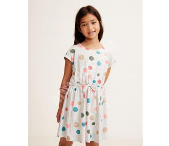4441ff02c فستان اطفال بناتي منقط - عروض اسعار خاصة بالجملة - مانغو - mango