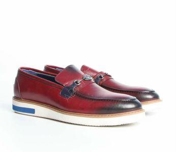 bb39c72c3 حذاء رجالي مزين بقطعة معدنية - باسعار منافسة - فلو - Flo