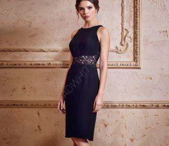 ac123e7cb فستان رسمي حفر مفرغ من الخصر - اسود - سيتشيل ستور - secilstore