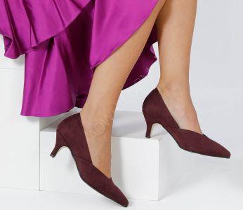 719d97a39a5c8 حذاء نسائي شيك بكعب - للبيع بالجملة - فلو - Flo