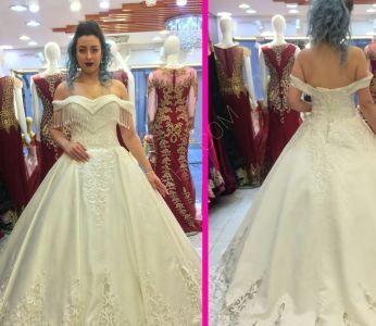 e9449b9ad74a5 فستان الزفاف في تركيا