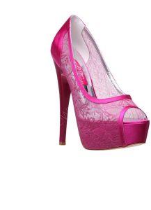 c9c1cd429f31d بيع جملة - حذاء نسائي   فوشيا - انجي - Inci