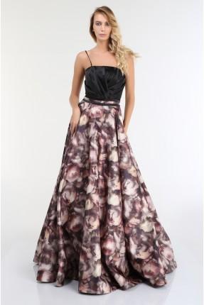 فستان رسمي طويل ملون