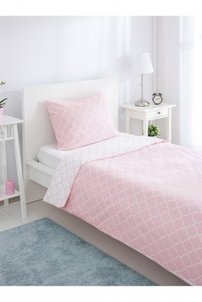 طقم سرير مفرد دبل فيس - زهر