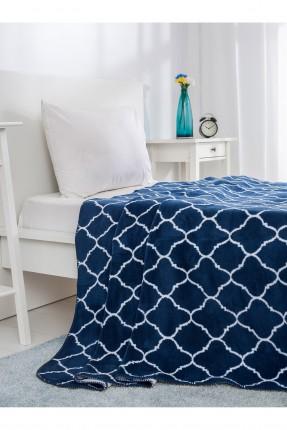 بطانية سرير مفرد - نيلي
