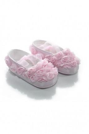 حذاء بيبي بناتي مورد _ زهري