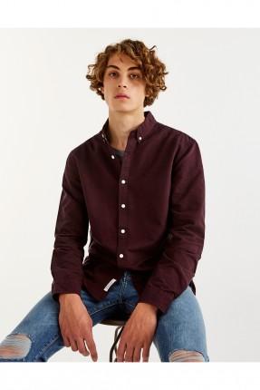 قميص رجالي _ خمري