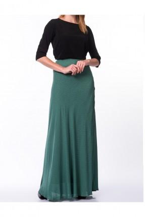 تنورة طويلة _ اخضر