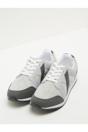 حذاء رجالي سبور - رمادي