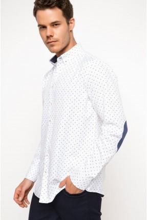 قميص رجالي _ ابيض