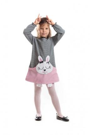 فستان اطفال شكل ارنب