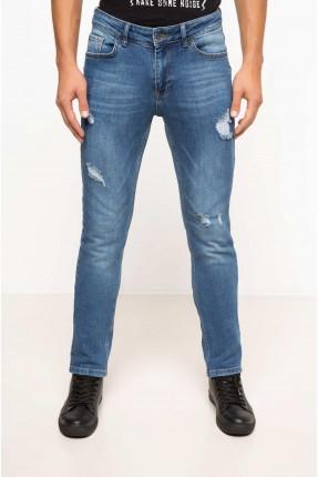 بنطال رجالي جينز ممزق