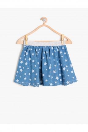 تنورة اطفال بناتي - ازرق