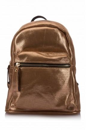 حقيبة ظهر نسائية _ برونز