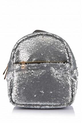 حقيبة ظهر نسائية لامعة