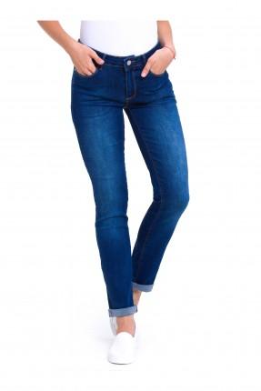 بنطال نسائي جينز للكاحل
