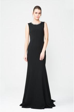 فستان رسمي طويل _ اسود
