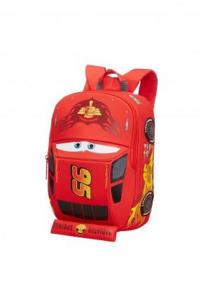 حقيبة مدرسية بشكل سيارة الحمراء