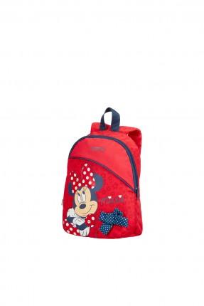 حقيبة  مدرسية مع رسمة ميني ماوس
