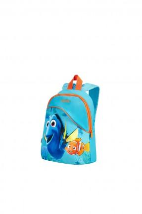 حقيبة  مدرسية مع رسمة السمكة نيمو