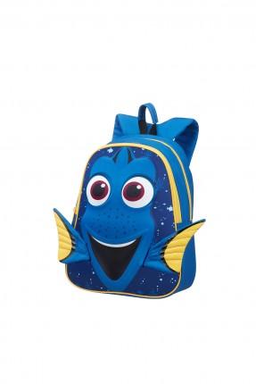 حقيبة مدرسية بشكل السمكة الزرقاء