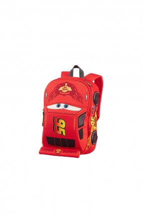 حقيبة مدرسية بشكل السيارة الحمراء
