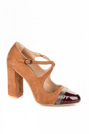 حذاء  نسائي لونين