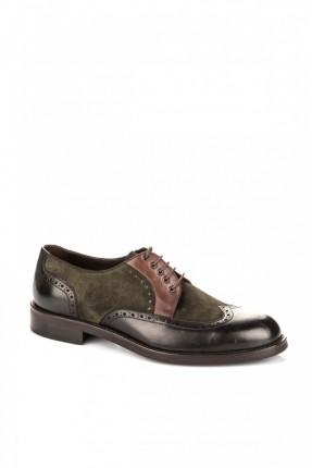 حذاء رجالي _ زيتي
