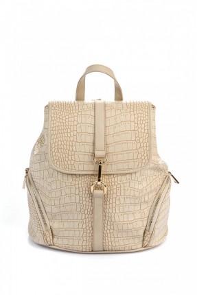 حقيبة ظهر نسائية _ بيج