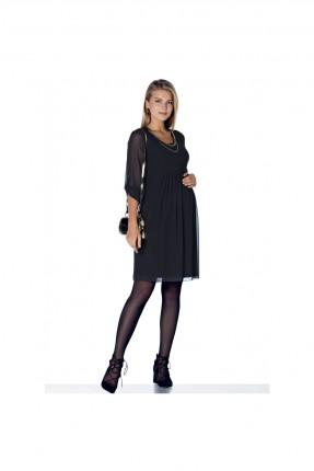 فستان حامل قصير - اسود