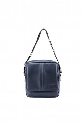 حقيبة يد رجالية - نيلي