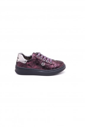 حذاء اطفال بناتي - بنفسجي