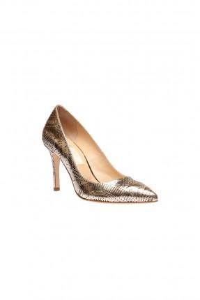 حذاء نسائي _ ذهبي