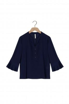قميص نسائي -نيلي