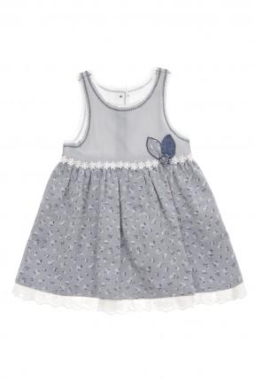 فستان بيبي بناتي - نيلي
