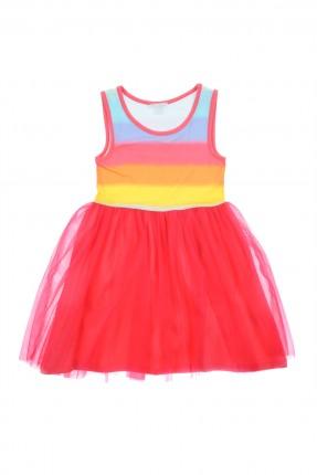 فستان اطفال بناتي - فوشيا