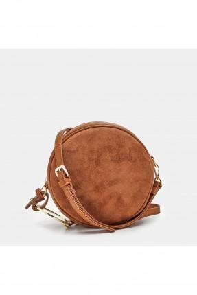 حقيبة يد نسائية مدورة