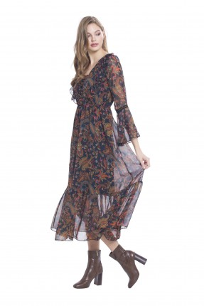 فستان نسائي كم طويل