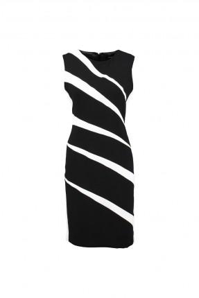 فستان حفر رسمي - اسود