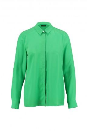 قميص نسائي كلاسيكي - اخضر فاتح