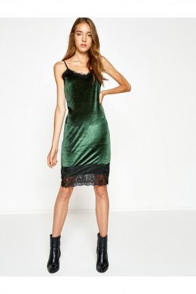 فستان نسائي شيال - اخضر