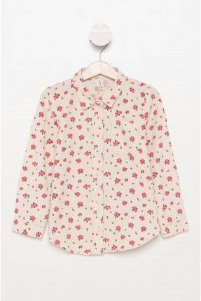 قميص اطفال بناتي مزهر