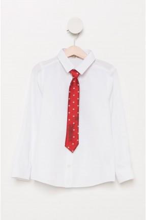 قميص مع كرافة اطفال ولادي