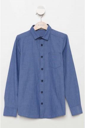 قميص اطفال ولادي _ ازرق